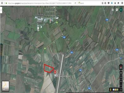 Teren de vanzare situat langa Aeroportul Satu Mare
