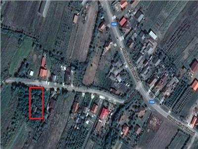 Loc de casă 6700 mp. �n Rușeni cu casă pt. demolat