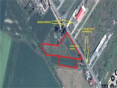 Teren intravilan de vanzare zona Aurel Vlaicu